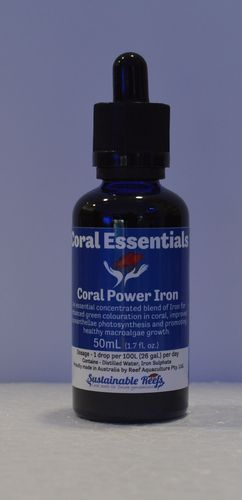coral essentials power iron supplement