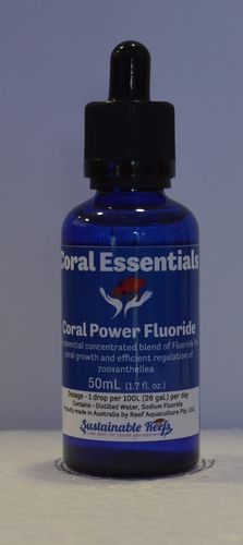coral essentials power flouride
