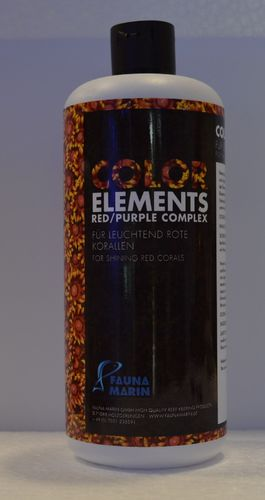 Fauna marin elements red purple complex. 500ML